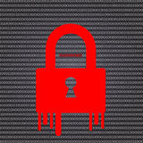 Internet security concept. Royalty Free Stock Photography