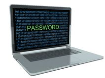 Internet security concept, hacker Stock Image