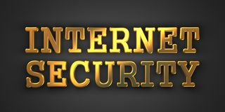 Internet Security. Information Concept. Royalty Free Stock Photo