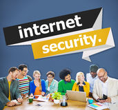 Internet Security Protection Phishing Prevent Protect Concept Royalty Free Stock Photography