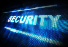 Internet  Security. Security system.  Global Communications.  Network Security Royalty Free Stock Photos