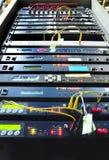 Internet server Stock Image