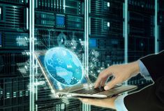 Internet Server Programming Technology Concept stock image