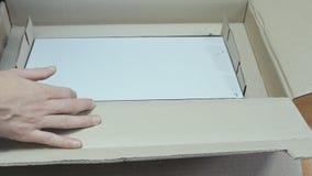 Internet service provider equipment stock video footage