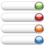 Internet shiny buttons. Vector illustration. Stock Photo