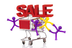 Internet Shoping concept Stock Image