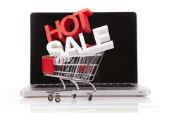 Internet Shoping concept Royalty Free Stock Images