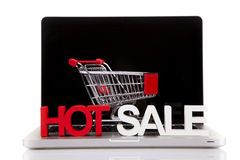 Internet Shoping concept Royalty Free Stock Photography