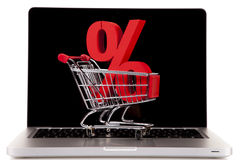 Internet Shoping concept Stock Images