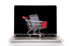 Internet Shoping concept Royalty Free Stock Photos