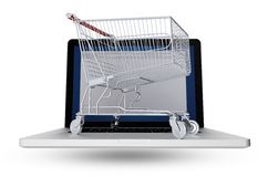 Internet Shopper Stock Image