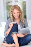 Internet shopping Royalty Free Stock Photography