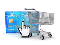 Internet shopping Stock Photo