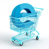 Internet shopping 4 Royalty Free Stock Image