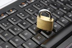 Internet sicuro Immagine Stock