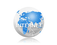 Internet sign Royalty Free Stock Photos