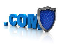 Internet site protection Stock Photography