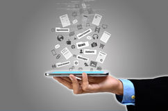 Internet on Smart Phone royalty free stock images