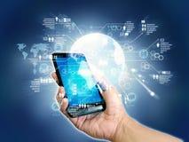 Internet Smartphone stock photography