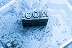 Internet, Social media & Blog website design icon Stock Photography