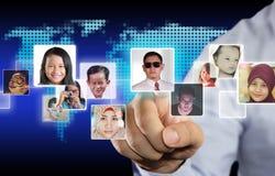 Internet Social Media Concept Stock Photography