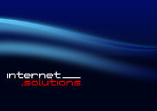 Internet Solutions royalty free illustration