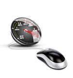 Internet speed Royalty Free Stock Photo