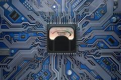 Internet speed level connection concept. Maximum internet speed Stock Photos