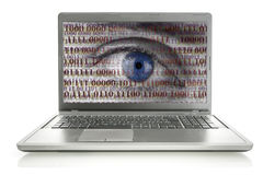 Internet-Spion Stockbilder