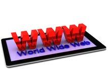 Internet sul vostro Smart Phone Immagini Stock