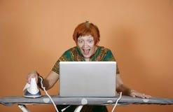 Internet surfing Stock Photos
