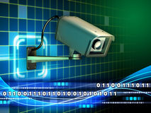 Internet surveillance Royalty Free Stock Image