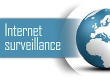 Internet surveillance Stock Photos