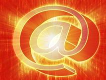 At internet symbol Royalty Free Stock Images
