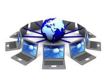 Internet symbol Stock Image