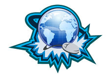 Internet Symbol Button Illustration Royalty Free Stock Photography