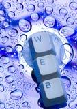 Internet-Symbole Lizenzfreie Stockbilder