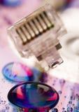 Internet symbols ( rj45 ) Stock Photography