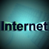 Internet Technology Stock Image
