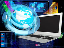 Internet technology for business Stock Images