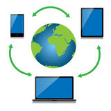 Internet technology Royalty Free Stock Photography