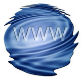 Internet Technology Concept: www. On white background Royalty Free Stock Photo