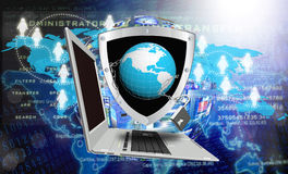Internet technology.Globalization Royalty Free Stock Photography