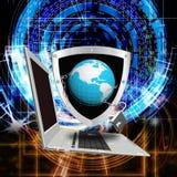 Internet technology.Globalization Stock Photography