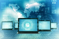 Internet Technology Secure network Royalty Free Stock Images