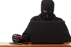 Internet Theft Royalty Free Stock Images