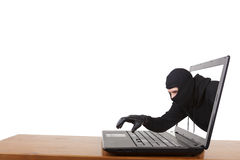 Internet Theft Stock Image