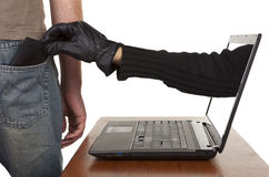 Internet Theft Stock Photography