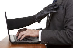Internet Theft Royalty Free Stock Image