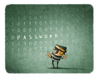 Internet Theft Concept Royalty Free Stock Images